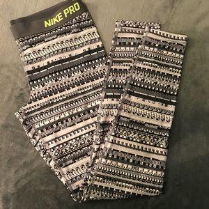 Aztec Nike Dri-fit leggings